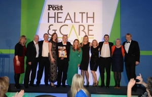 The It's in the Bag team win Health Campaign of the Year